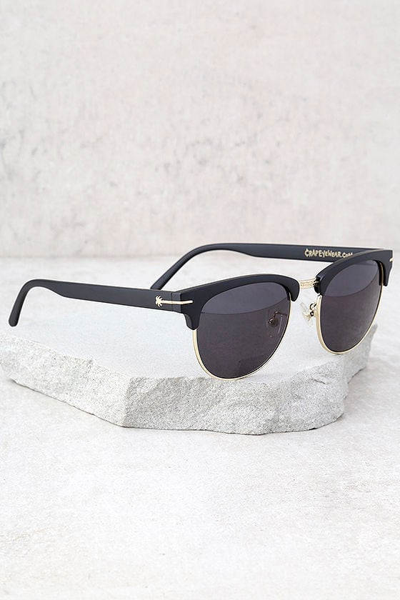Crap Eyewear The Nudie Club Black Sunglasses 2