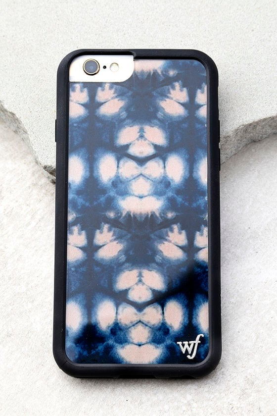 buy online 70d02 17187 Wildflower Indigo Tie-Dye Print iPhone 6 and 6s Case