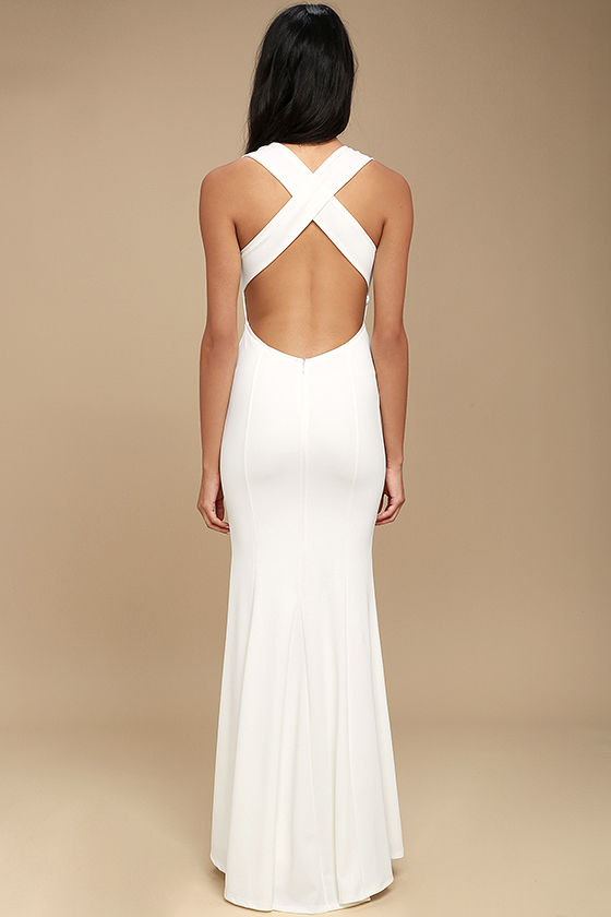 Heaven and Earth White Maxi Dress 4