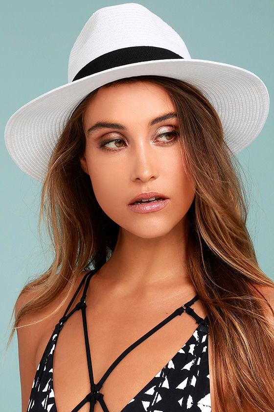 Billabong Here and There White Straw Hat 1