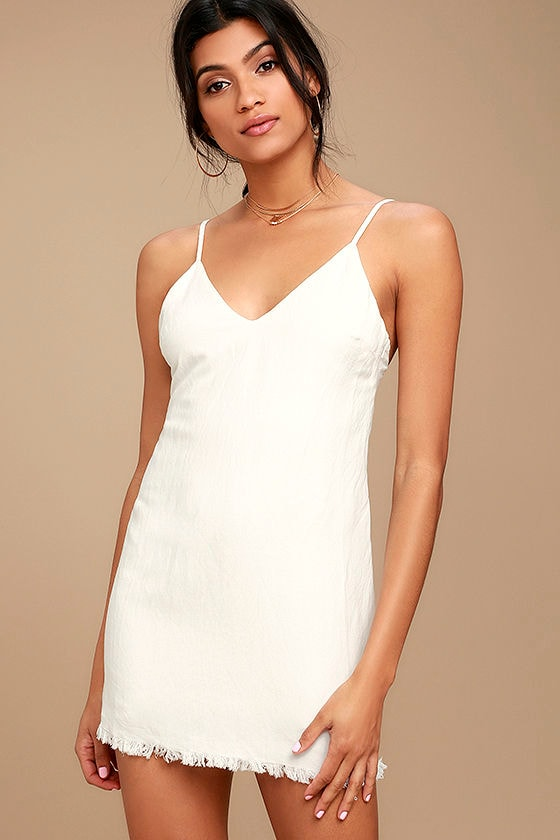 Ray of Light White Dress 1