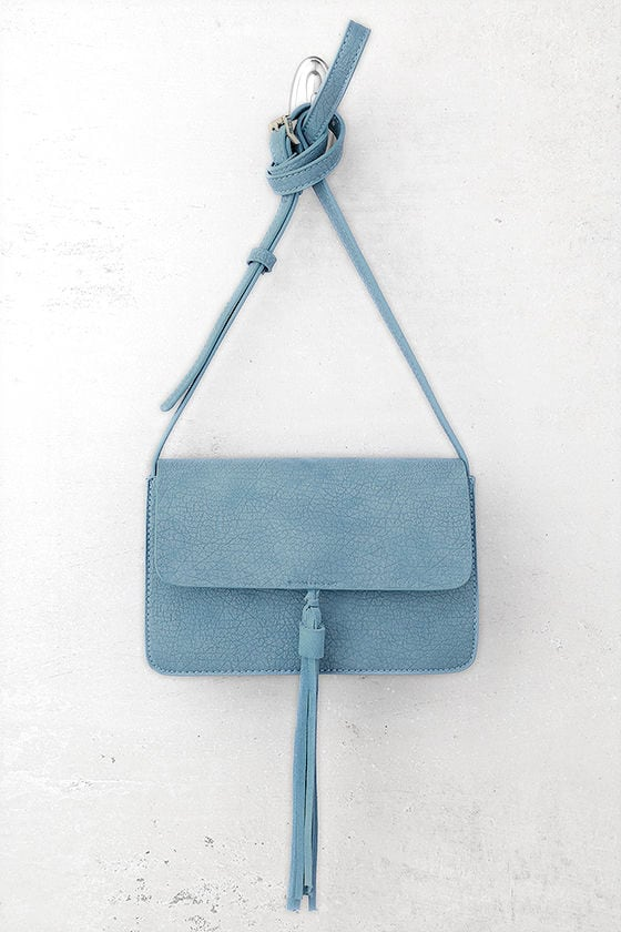 Venice Blue Crossbody Purse 1