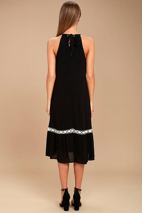 Dream a Dream Black Crochet Dress 3