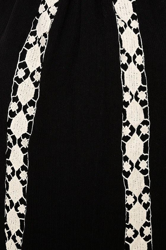 Dream a Dream Black Crochet Dress 4