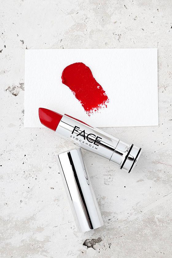 FACE Stockholm Striking Red Cream Lipstick 1