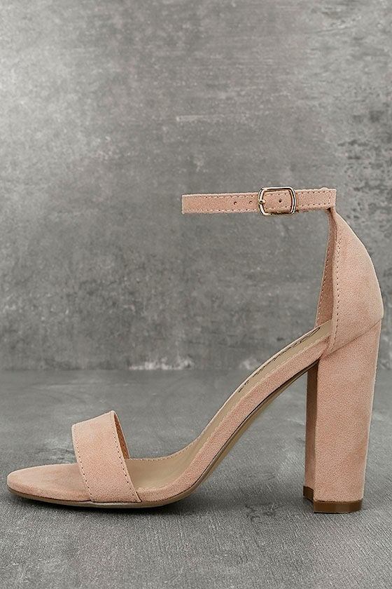 Lulus Carrson Leather Ankle Strap Heels - Lulus eJEX0H