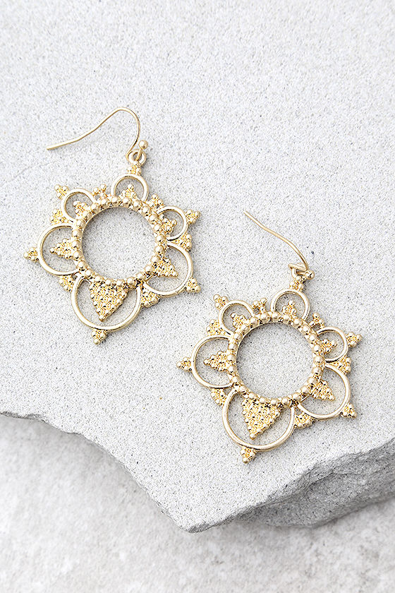 Always Enchanted Gold Earrings 1