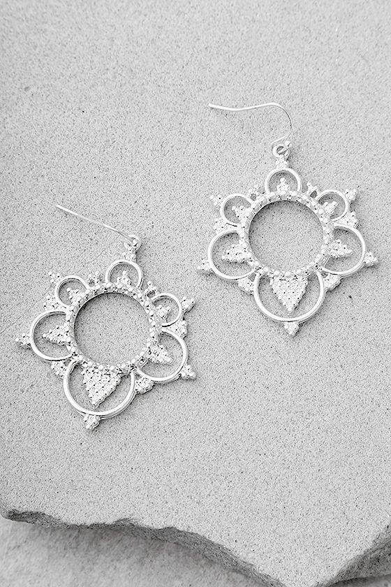 Always Enchanted Silver Earrings 1