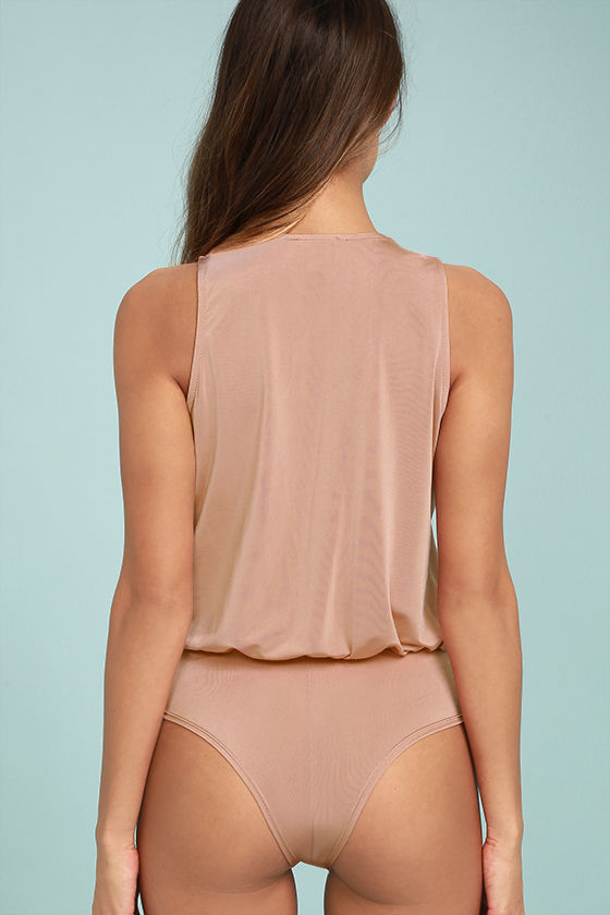 Saturday Night Delight Blush Pink Bodysuit 4