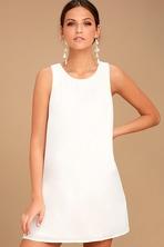8d5591857dd Chic Black Dress - Sleeveless Swing Dress - Lattice Dress