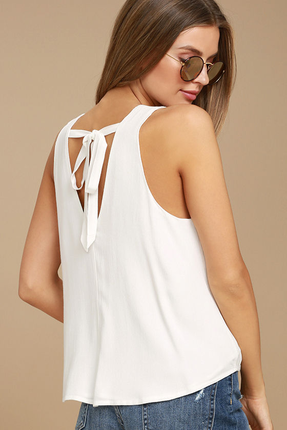 Vacay Vision White Lace Top 2