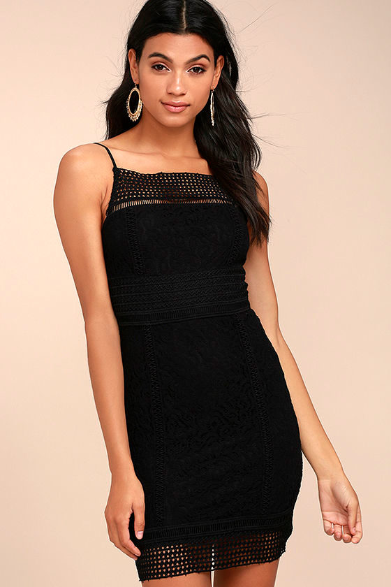 Black Swan Tyra Black Lace Dress 1