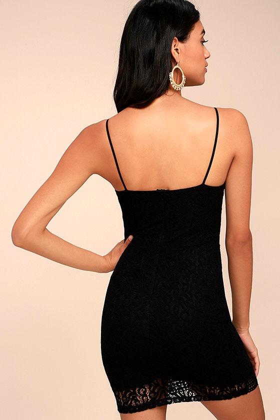 Black Swan Tyra Black Lace Dress 3