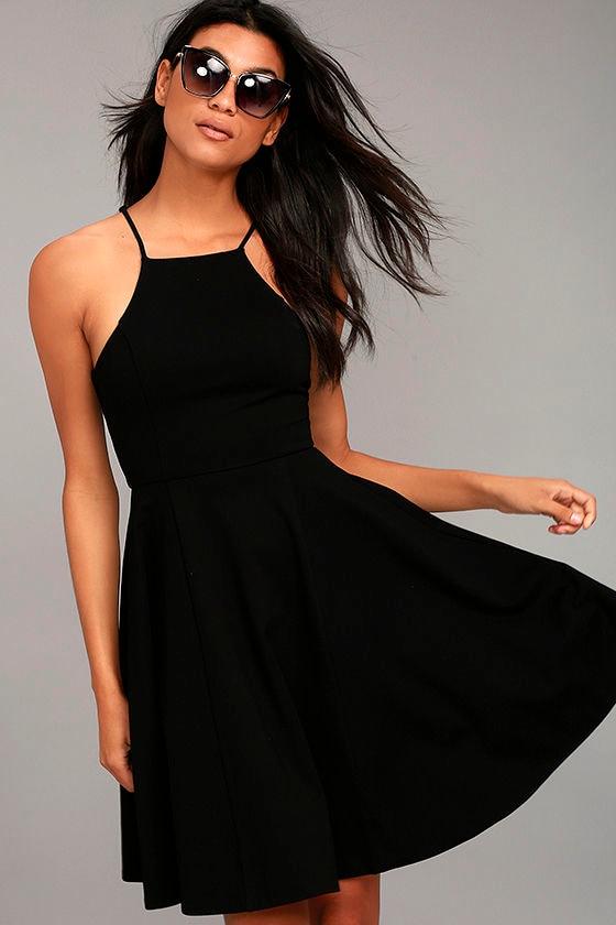 Best of You Black Midi Dress 1