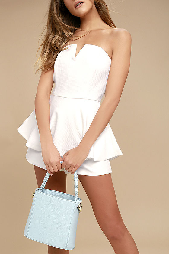 Bucket List Light Blue Bag 1