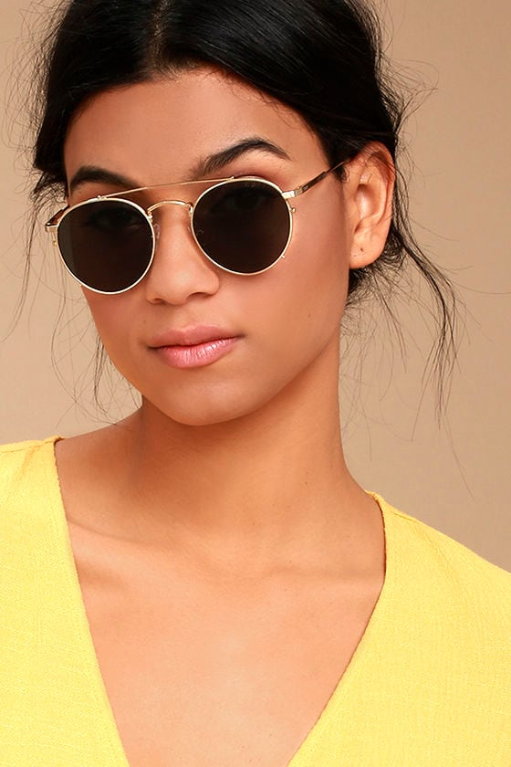 de0df62444 Crap Eyewear The Tuff Safari - Gold Sunglasses - Polarized Sunglasses -   88.00