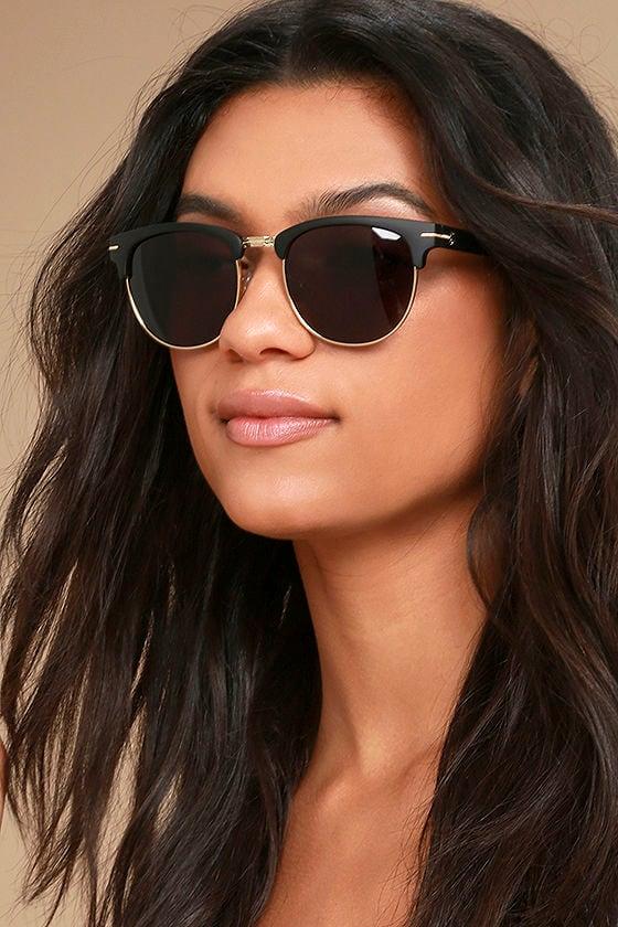 Crap Eyewear The Nudie Club Black Sunglasses