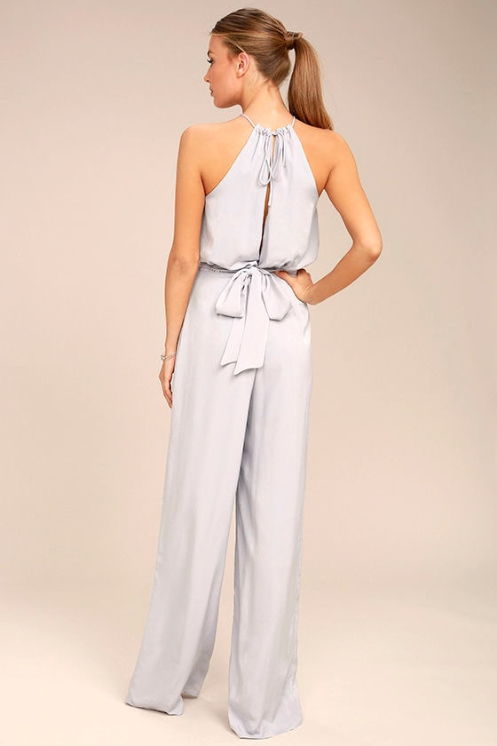 Dance With You Light Grey Jumpsuit 3