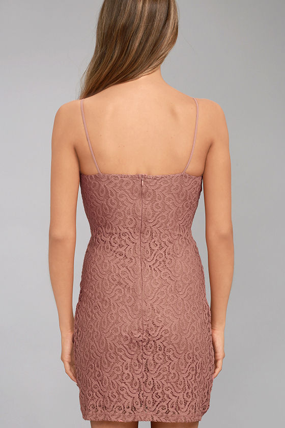 Black Swan Tyra Rusty Rose Lace Dress 3