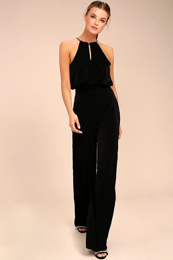 Dance With You Black Jumpsuit 1