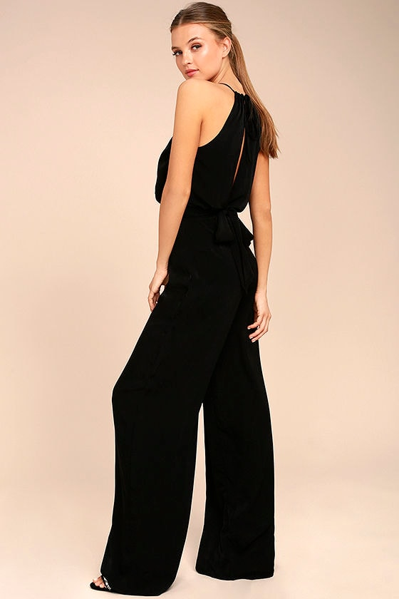Dance With You Black Jumpsuit 2