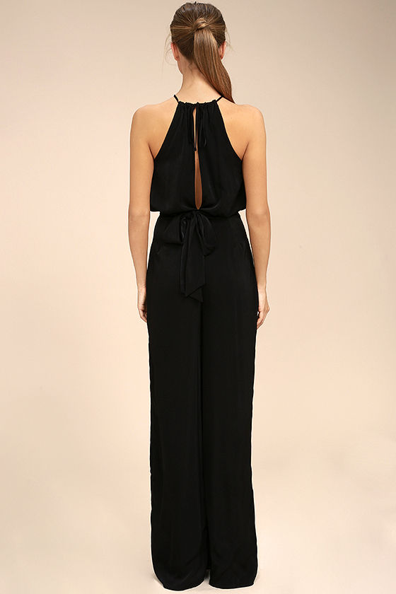 Dance With You Black Jumpsuit 3