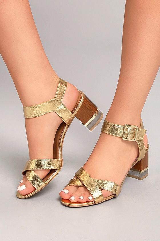 trendy lucite heel sandals gold high heel sandals. Black Bedroom Furniture Sets. Home Design Ideas