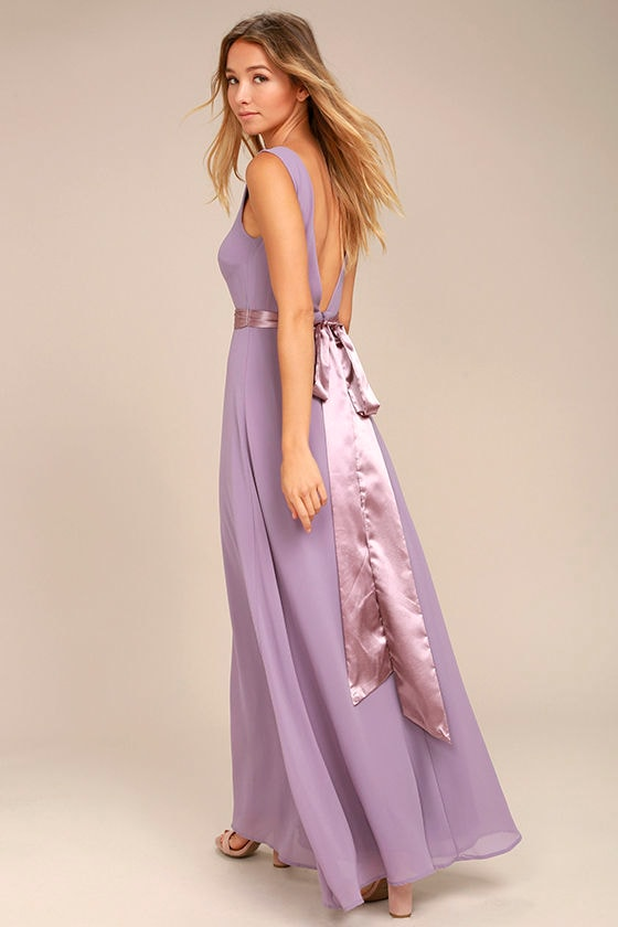 That Something Special Dusty Purple Maxi Dress 1