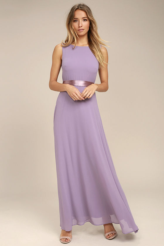 That Something Special Dusty Purple Maxi Dress 2