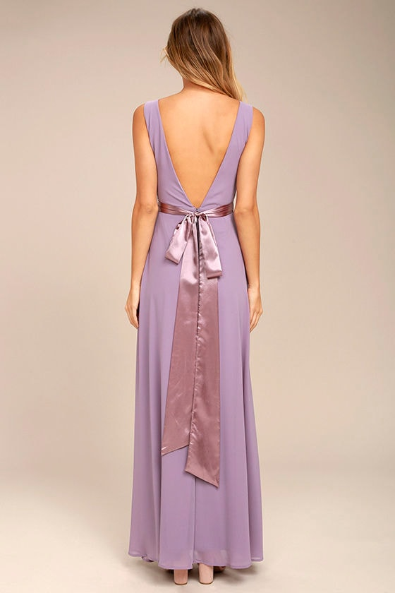 That Something Special Dusty Purple Maxi Dress 3