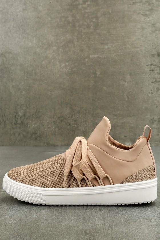Steve Madden Lancer Blush Sneakers 1
