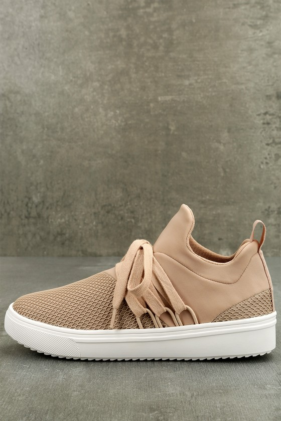 a2ba420d511d53 Steve Madden Lancer - Street Style Sneaker - Blush Sneakers - Trendy ...