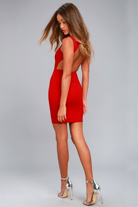 Long Fitted Red Dresses