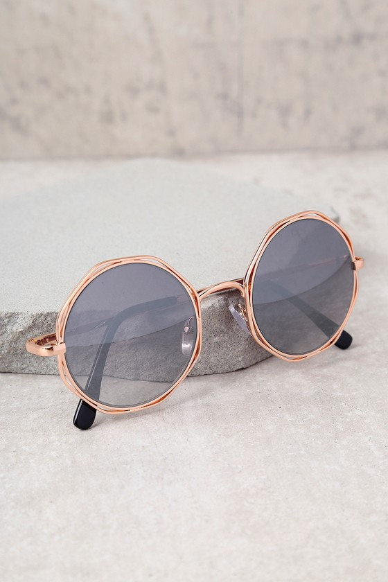 Perverse Xanadu Gold and Black Sunglasses