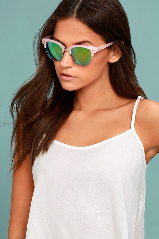 Perverse Barrett Pink Mirrored Sunglasses 3