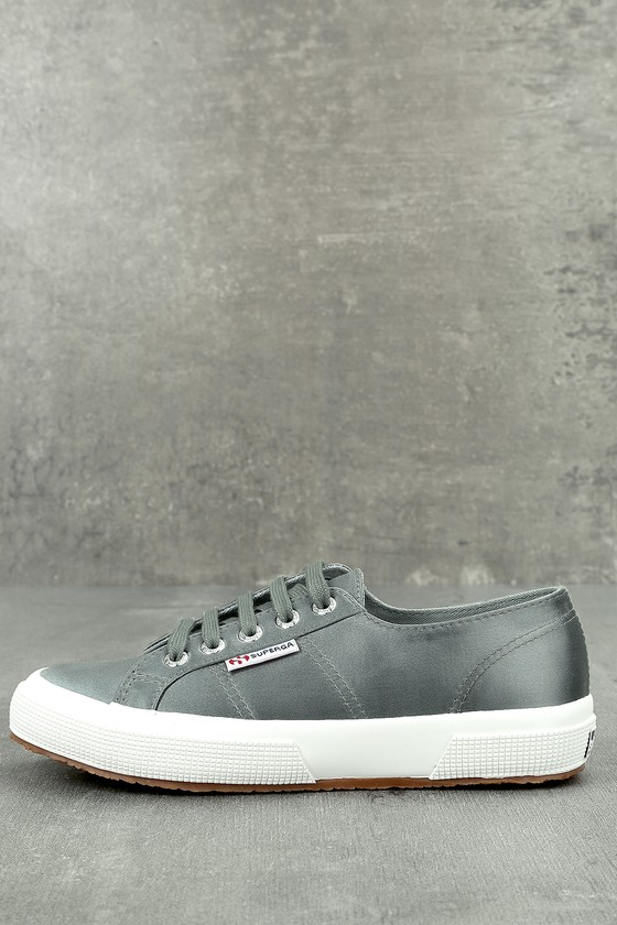 Superga 2750 Satin Grey Sneakers 1