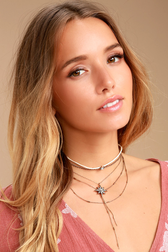 Streets of Santa Fe Gold Layered Choker Necklace 2