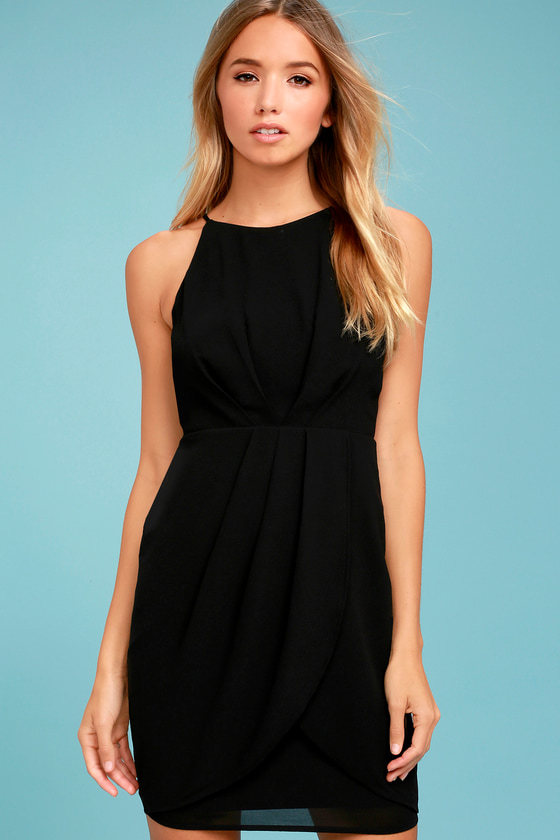 Best Wishes Black Dress 2