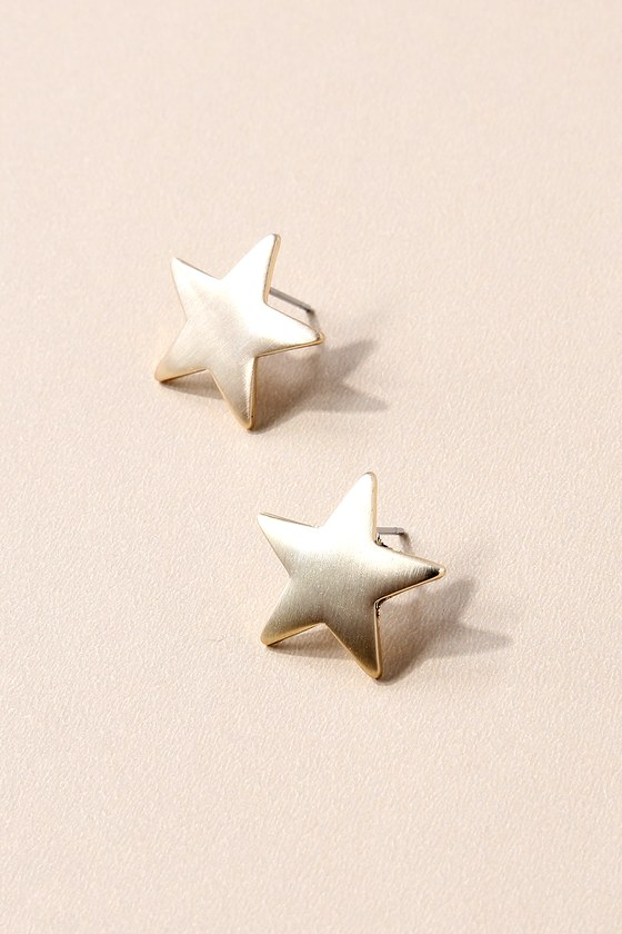 Well-Known Gold Star Earrings 2