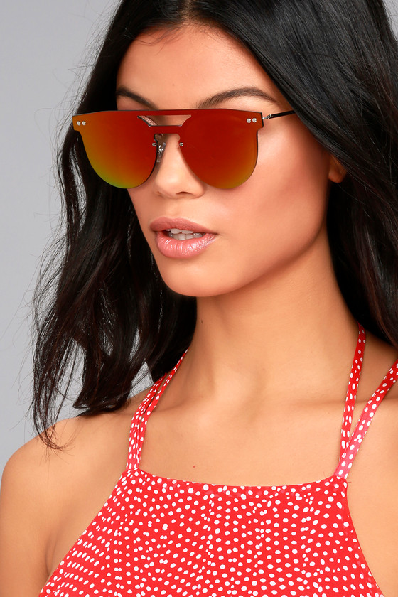 Spitfire Prime Pink Mirrored Sunglasses 3