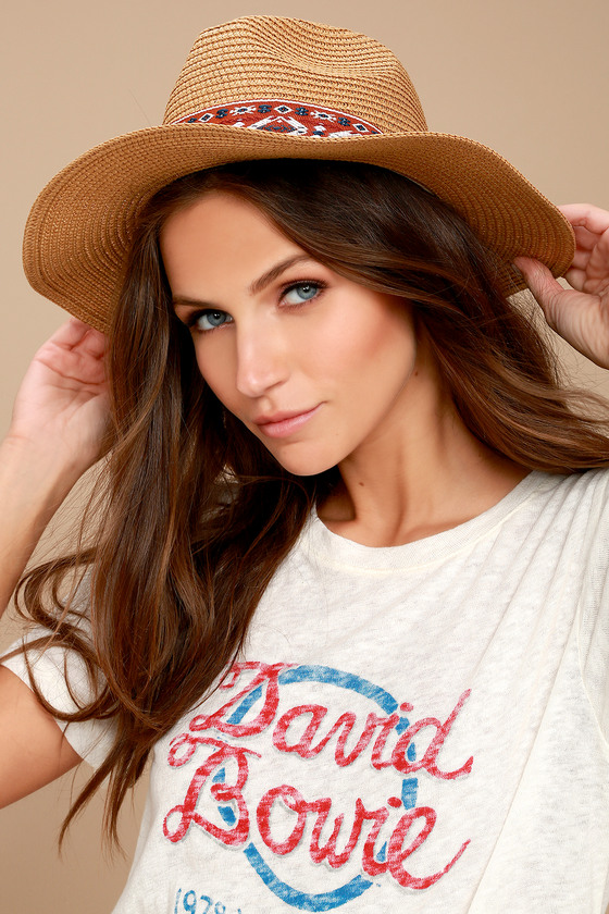 Hip Hillside Tan Floppy Straw Fedora Hat 3
