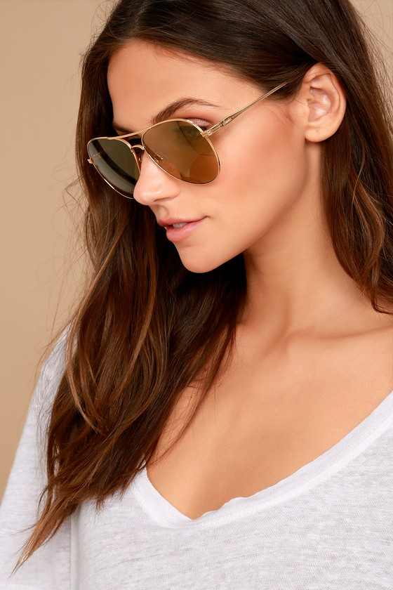 f38ab9c9a0 Sonix Lodi - Gold Sunglasses - Aviator Sunglasses