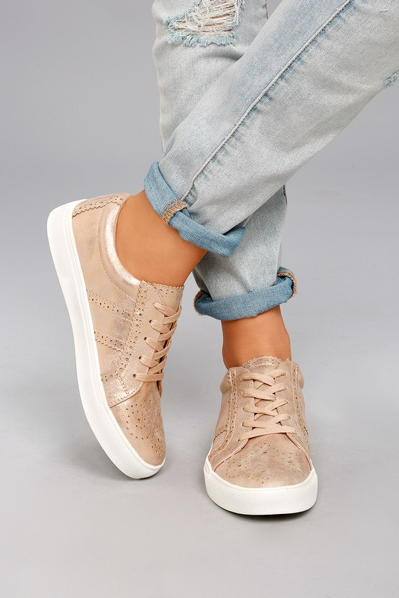Sneakers Rose Chic Report Abe Gold Perforated wga1xqZqp