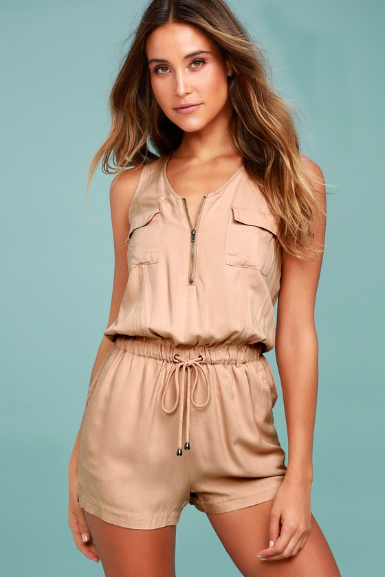 Olive & Oak Set Free Blush Romper 6
