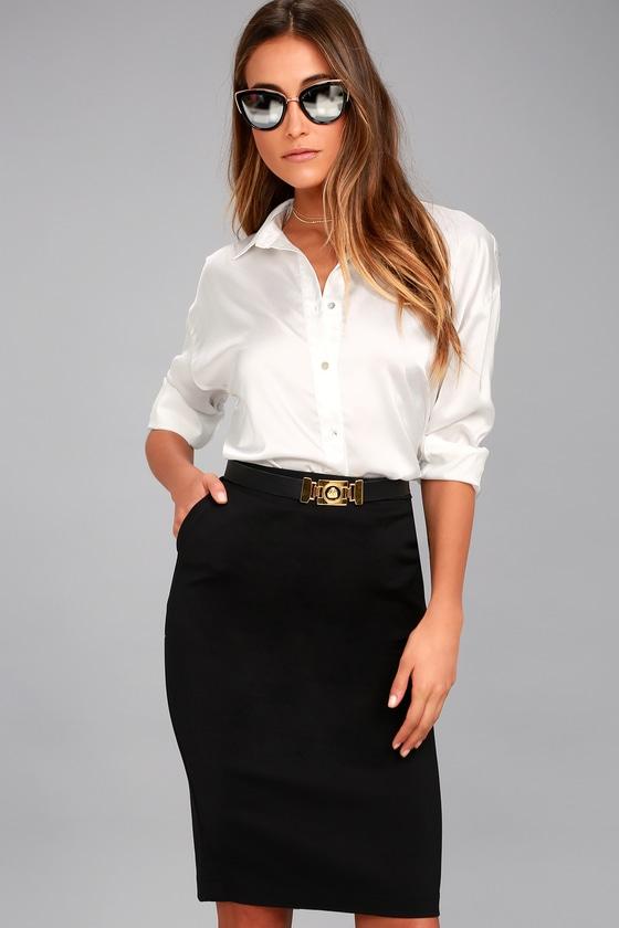Looks - How to bodycon wear midi skirt video