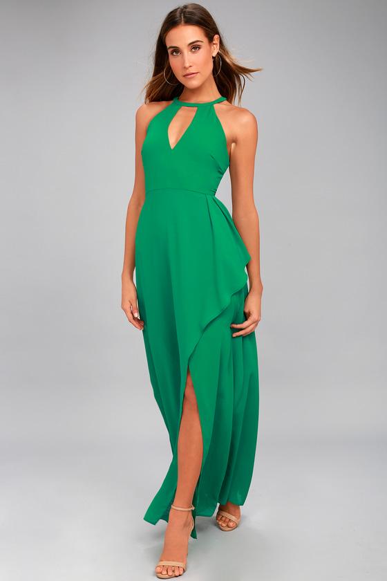 Lovely Green Dress - Maxi Dress - Gown - Formal Dress - Lulus