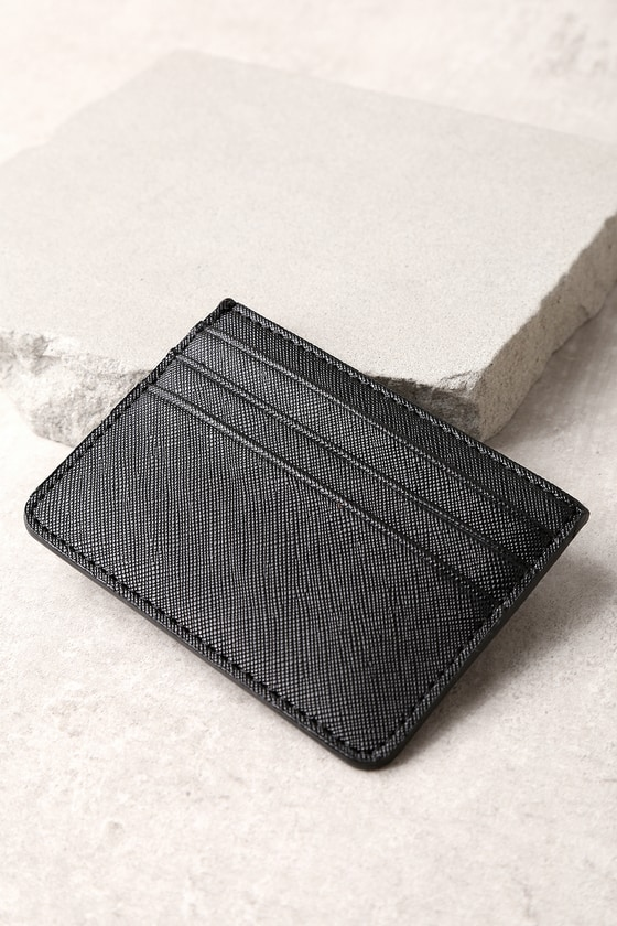 Charge It Black Card Case 1