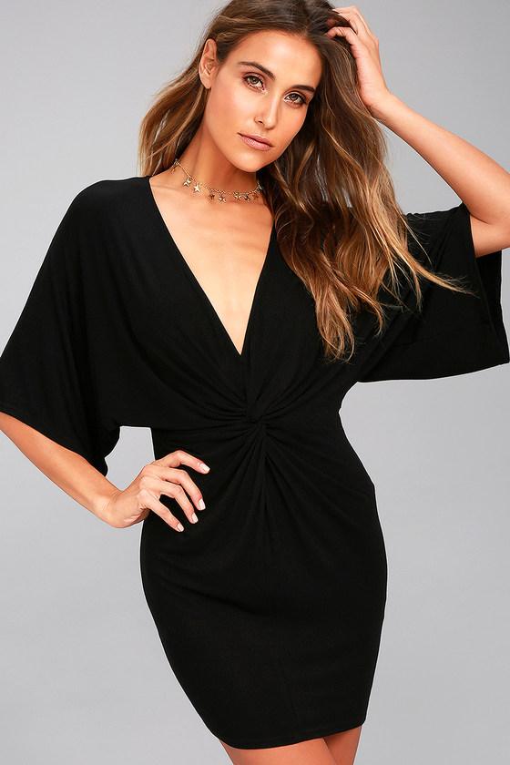 edb79b884fe Cute Black Dress - Casual Black Dress - LBD