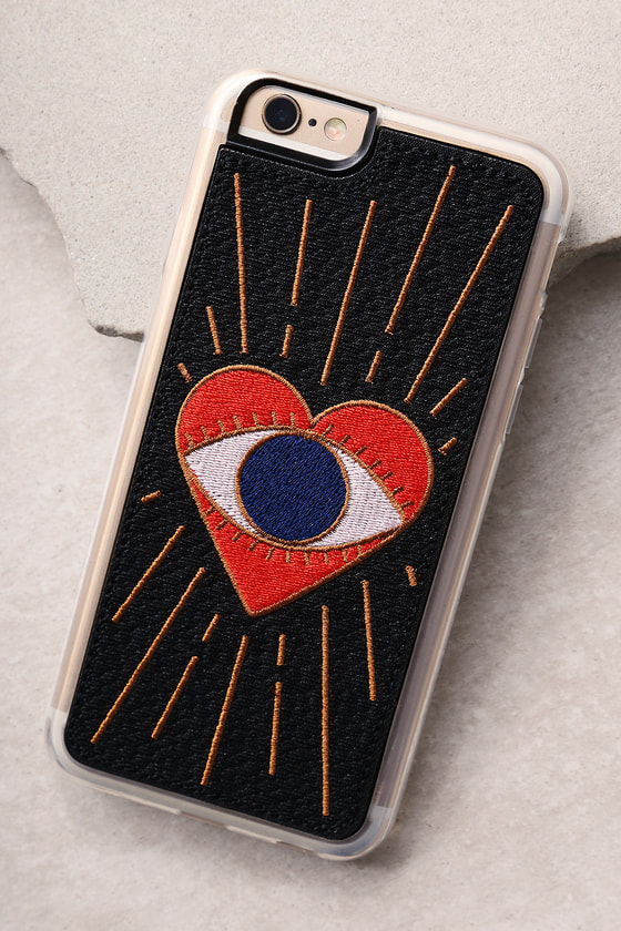 Zero Gravity Visions Black Embroidered iPhone 6 and 6s Case 1