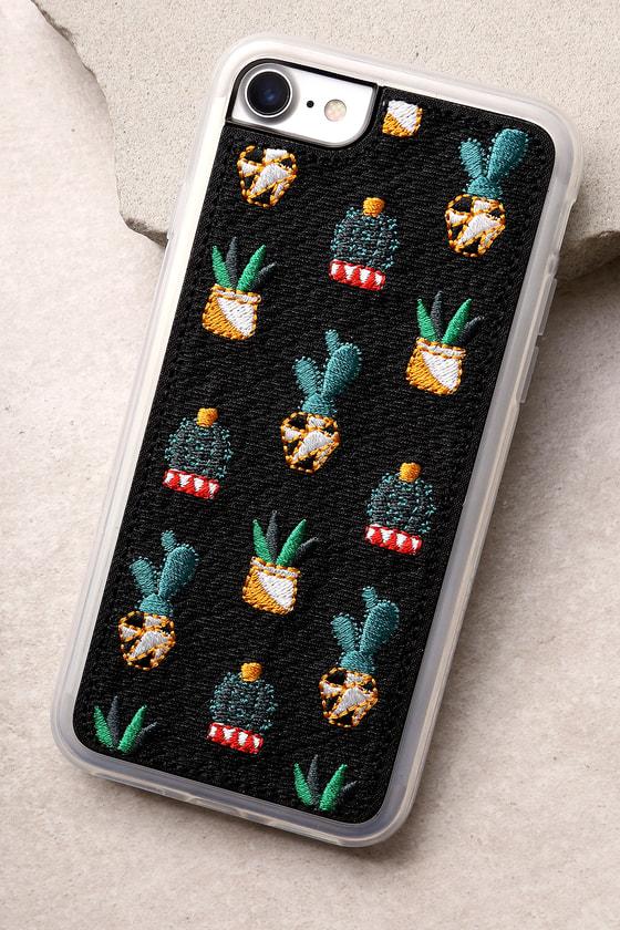 Zero Gravity Santa Fe Black Embroidered iPhone 7 Case 1